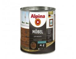 Купить Лак алкидный мебельный Alpina Möbel SM шелковисто-матовый