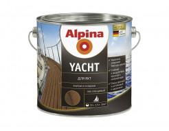 Лак алкидный яхтный Alpina Yacht глянцевый