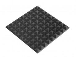 Акустическая панель пирамида 30 мм 45х45 см Mini,черный графит