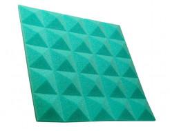 Акустическая панель пирамида 30 мм 45х45 см Pyramid Gain Green