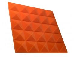 Акустическая панель пирамида 30 мм 45х45 см Pyramid Gain Orange