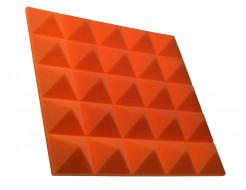 Акустическая панель пирамида 50 мм 45х45 см Pyramid Gain Orange