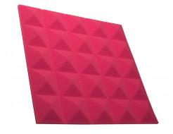 Акустическая панель пирамида 30 мм 45х45 см Pyramid Gain Rose