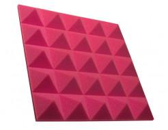 Акустическая панель пирамида 50 мм 45х45 см Pyramid Gain Rose