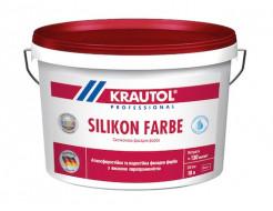 Краска фасадная силиконовая Krautol Silikon Farbe B1 белая