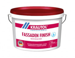 Краска фасадная акриловая Krautol Fassaden Finish