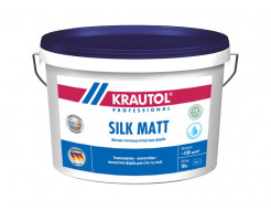 Краска интерьерная латексная Krautol Silk Matt E.L.F. B1 белая