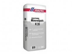 Декоративная штукатурка Krautol Krautherm Mineralputz K20 камешковая