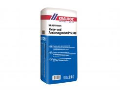 Смесь для приклеивания армириющая ППС и МВ Krautol Krautherm Klebe- und Armierungsmörtel 95 UNI Зима