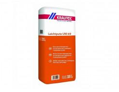 Штукатурка Krautol Leichtputz UNI 69 защищает от промерзания