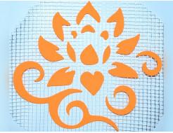 Декор для жидких обоев Экобарвы Цветок 123
