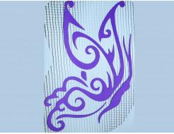 Декор для жидких обоев Экобарвы Бабочка 152
