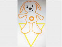 Купить Декор для жидких обоев Экобарвы Tiny Love Собачка