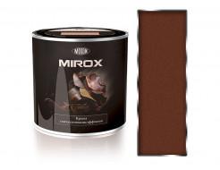 Краска термостойкая 3 в 1 Mixon Mirox коричневая 8002 - интернет-магазин tricolor.com.ua