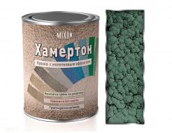 Краска алкидная 3 в 1 Mixon Хамертон зеленая 318 молотковый эффект