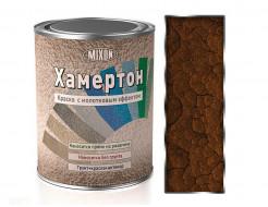 Краска алкидная 3 в 1 Mixon Хамертон коричневая 520 молотковый эффект - интернет-магазин tricolor.com.ua
