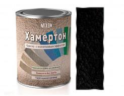 Краска алкидная 3 в 1 Mixon Хамертон черная 800 молотковый эффект - интернет-магазин tricolor.com.ua