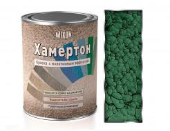 Краска алкидная 3 в 1 Mixon Хамертон зеленая 320 молотковый эффект - интернет-магазин tricolor.com.ua