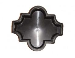 Форма для тротуарной плитки МАО Конюшина гладкая 26,7*21,8*2,5