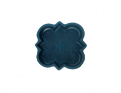 Форма для тротуарной плитки МАО Декор малый  21*21*2,5