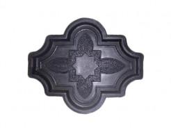 Форма для тротуарной плитки МАО Конюшина узорная 26,7*21,8*2,5 - интернет-магазин tricolor.com.ua