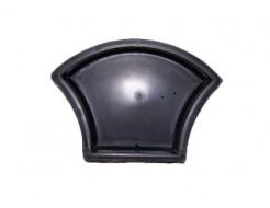 Форма для тротуарной плитки МАО Чешуя гладкая 24,5*19*6