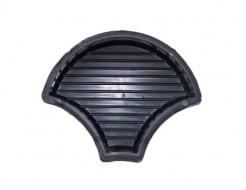 Форма для тротуарной плитки МАО Чешуя с полосами 24*18*6 - интернет-магазин tricolor.com.ua