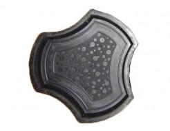 Форма для тротуарной плитки МАО Рокки 24*24*4,5 - интернет-магазин tricolor.com.ua