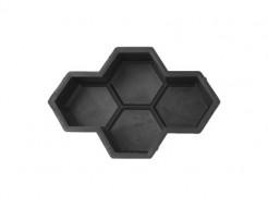 Форма для тротуарной плитки МАО Соты 26*18*4,5