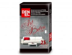 Декоративная штукатурка Denel ArtBeton текстура бетона
