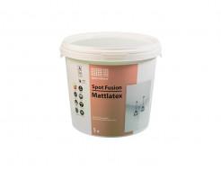 Моющаяся матовая белая интерьерная краска для потолков и стен Spot Fusion MattLatex Spot Colour