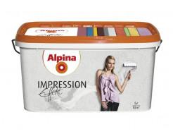 Краска интерьерная дисперсионная Alpina Impression Effekt белая структурная - интернет-магазин tricolor.com.ua
