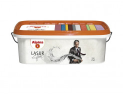 Краска интерьерная Alpina Effekt Lasur Gold перламутровая - интернет-магазин tricolor.com.ua