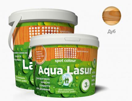 Лазурь для дерева акриловая Spot Colour AquaLasur дуб