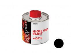 Жаростойкая краска-грунт с защитой от ржавчины Biodur черная - интернет-магазин tricolor.com.ua