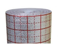 Изолон ламинированный с разметкой Izolon Air 04 белый 1м