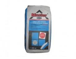 Кладочная смесь для ячеистых и других бетонных блоков Мастер Инсталл (Master Install) 20 кг