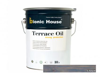 Масло террасное Terrace Oil Bionic House Серый