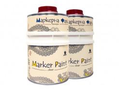 Краска интерьерная маркерная Le Vanille Pro прозрачная матовая