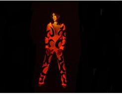 Краска люминесцентная AcmeLight для ткани красная - интернет-магазин tricolor.com.ua