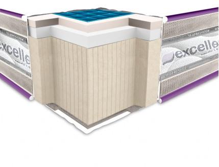 Ортопедический матрас Neolux Neoflex Comfogel soft 3D 120х190 - интернет-магазин tricolor.com.ua