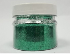 Глиттер GG/0,2 мм (1/128) зеленый Tricolor