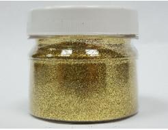 Глиттер GGO/0,2 мм (1/128) золотой Tricolor
