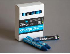 Набор мелков для маркировки на основе воска Kreyda универсальные 12 шт (синие) - интернет-магазин tricolor.com.ua