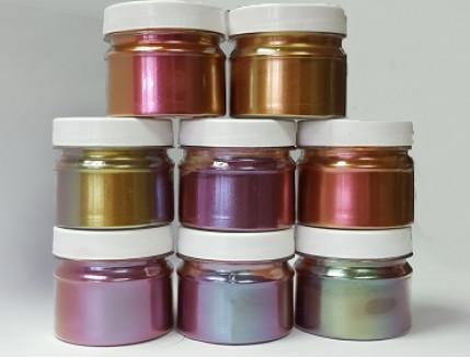 Пигмент Хамелеон Tricolor 7701 Медный-оливковый-красный - изображение 3 - интернет-магазин tricolor.com.ua
