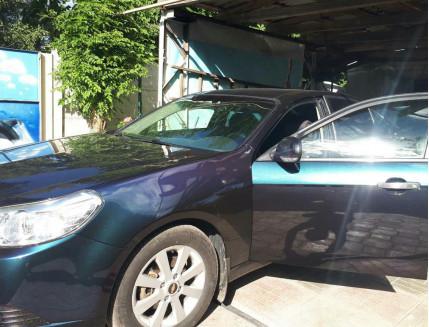 Пигмент Хамелеон Tricolor 7703 Сливовый-оранжевый-голубой - изображение 3 - интернет-магазин tricolor.com.ua