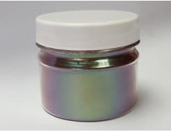 Купить Пигмент Хамелеон Tricolor 39IO Хаки-фиолетовый-оливковый