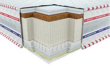 Ортопедический матрас Neolux Галант Латекс Кокос 3D 80х200 - интернет-магазин tricolor.com.ua