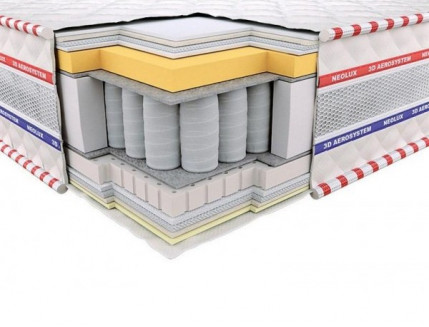 Ортопедический матрас Neolux Империал Memory Латекс Pocket Spring 3D 160х200 - интернет-магазин tricolor.com.ua