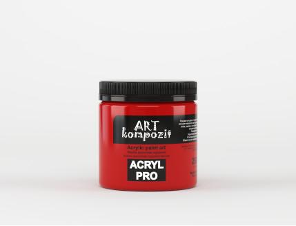 Краска акриловая художественная ART Kompozit Красный насыщенный 259 - изображение 2 - интернет-магазин tricolor.com.ua